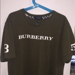 Burberry Londond Olive T-shirt